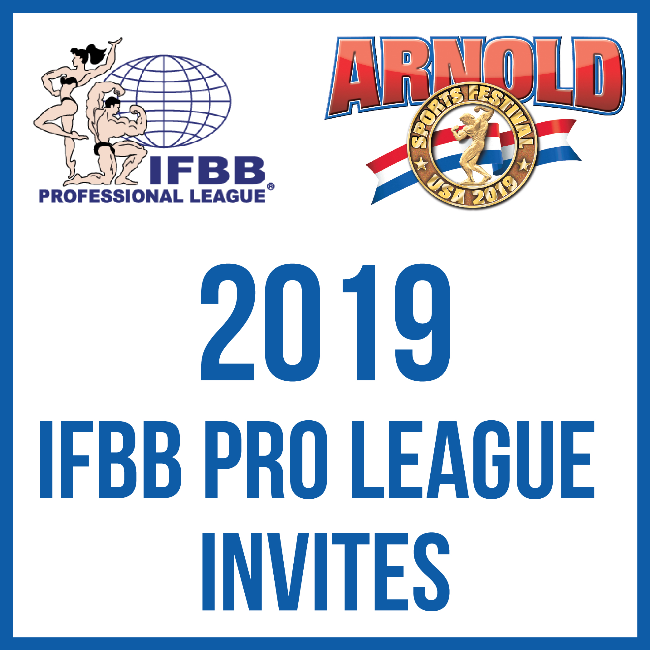 2019 IFBB Pro League Competitor Lists