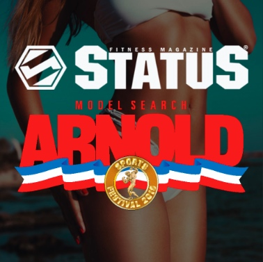 Status Fitness Magazine's Arnold Model Search