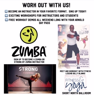 Work Out With Us!