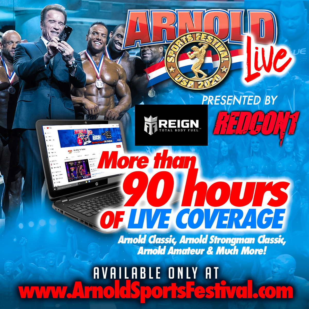 Watch Arnold Classic LIVE