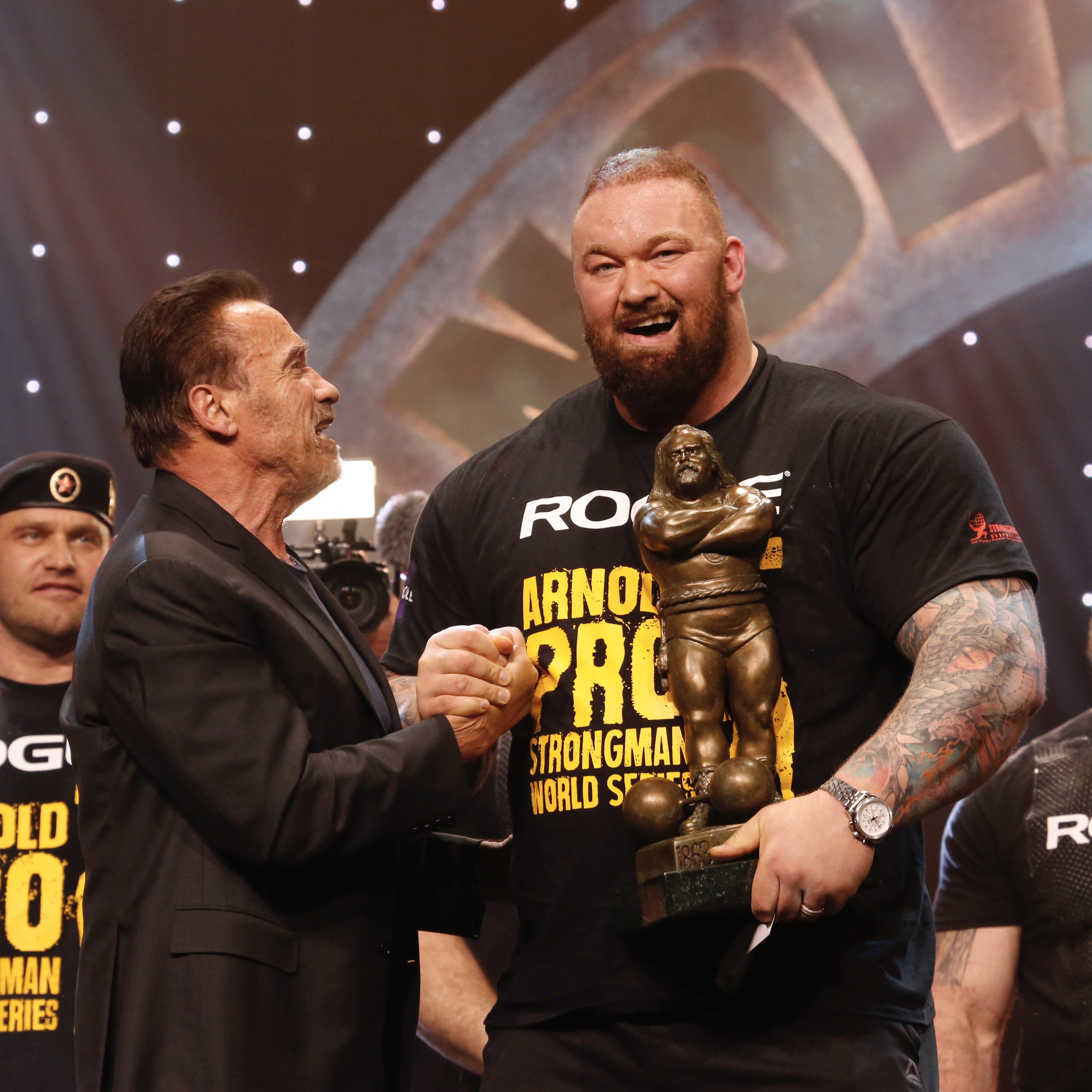 Watch: Arnold Strongman Classic On CBS